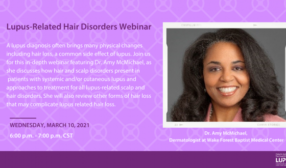 Lupus-Related Hair Disorders Webinar