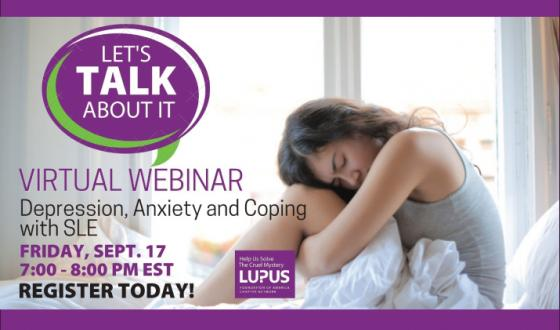 Let's Talk About It - Depresssion, Anxiety and Coping with SLE
