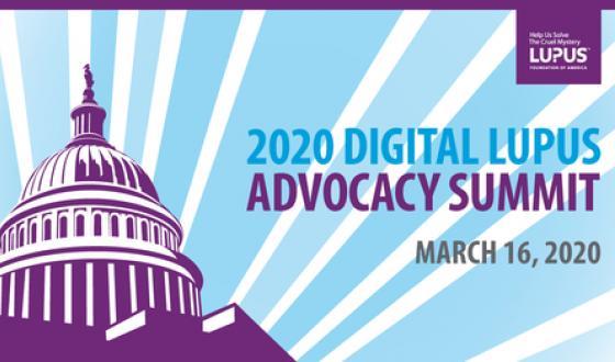 National Lupus Advocacy Summit Goes Digital!