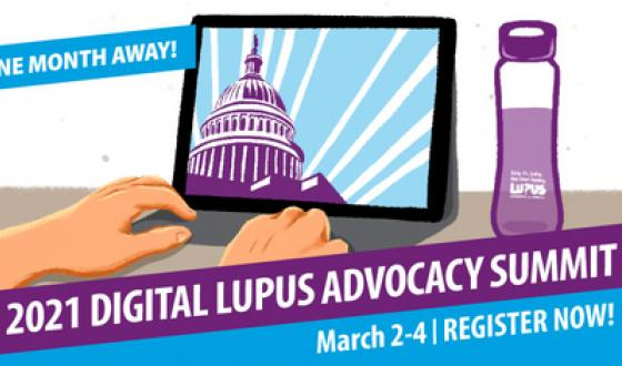 Clock is Ticking – Register Now for the 2021 Digital Lupus Advocacy Summit!
