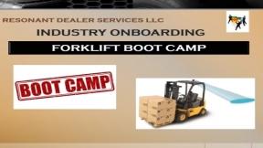 Forklift Bootcamp