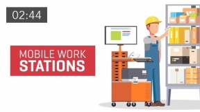 Increasing Worker Productivity with Mobile Workstations