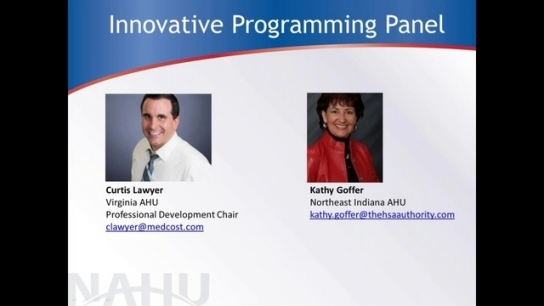 Chapter Leaders Call - May 2019: Innovative Programming