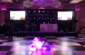 Dance Floor, Stage, Truss & Video Wall by NYFF Events