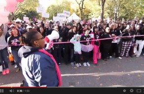 Making Strides Against Breast Cancer Walk 2012