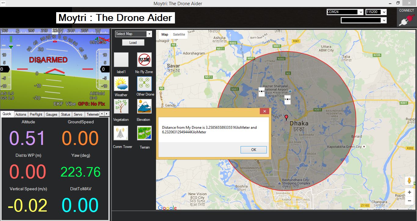 Moytri: The Drone Aider [Space Apps 2016]
