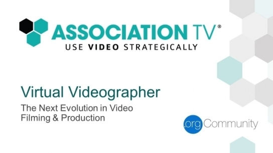 30 on Thursday with Association TV®: Virtual Videographer