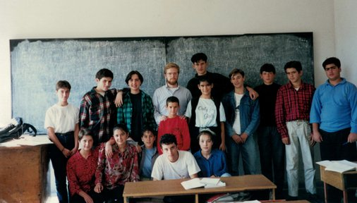 Justin Parmenter was a secondary education Volunteer in Albania from 1995 to 1997.