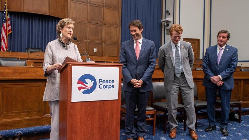 Director Olsen with Members of Congress