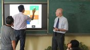 Lawrence Kahn had Chinese English teachers using and creating PowerPoint memory games.