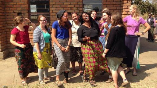 Kollie with her fellow Peace Corps Malawi Volunteers.