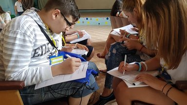 Youth leaders at the Waveweek Moldova 2017