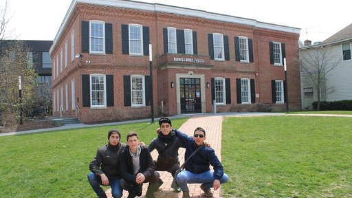 The boys at the University of Delaware