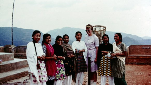 Heading to Nepal — in 1962