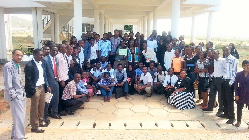 3rd year nursing students Tanzania