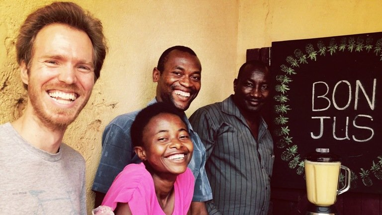 A native of Batouri, Cameroon, Gabriel Noa Tsala works with Peace Corps Volunteers to improve agricultural and business syste