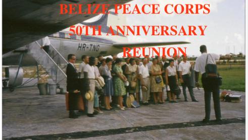 Belize 50th reunion