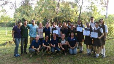 Volunteers & camp attendees