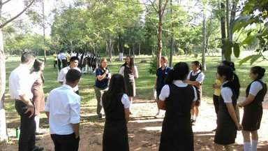 Dynamic activities during camp