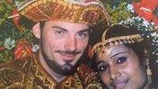 Volunteer & his bride