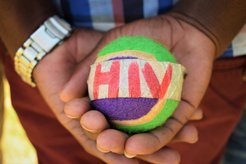 Camp Activities in dispelling myths about HIV