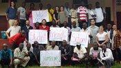 Participants after a SFS workshop