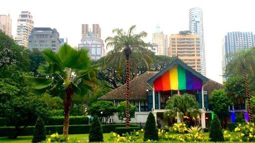 Celebrating Pride at the Embassy.
