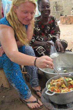 Emma Edwards, Benin