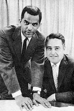 Franklin H. Williams and Sargent Shriver