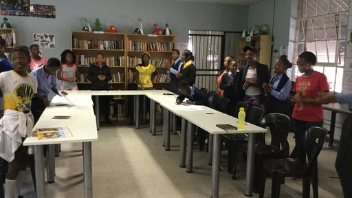 Soweto group session