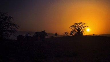 Sunset Northern Benin