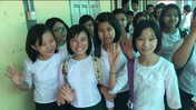 School Girls in Myanmar