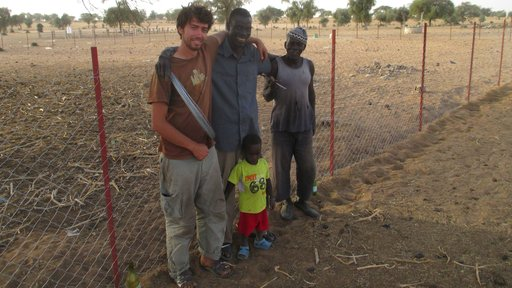 Cornell PCV with Senegal Counterparts