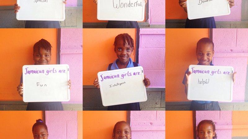 """Jamaican girls are…"""