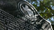 The marker in Galveston, Texas, commorating Juneteenth.