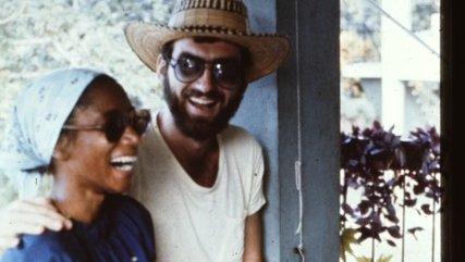 Ken and Mickie, Oracabessa, Jamaica 1976
