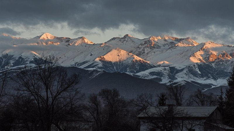 Kyrgyz Republic sunrise