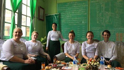 MM2 with school Uniform in Regional Education Office