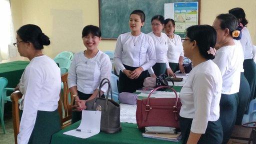 Sayar and Sayarma: Meet Peace Corps Myanmar's first counterparts