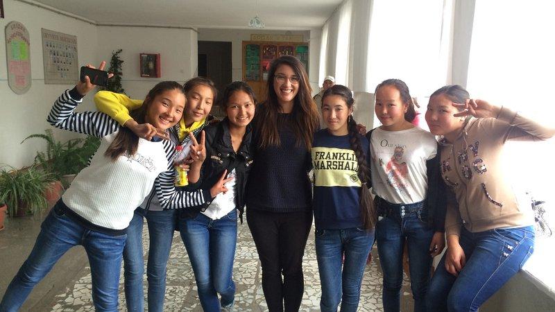 Nicole Eng, Kyrgyz Republic