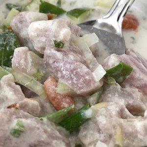 Oka l'a, Samoan fish salad