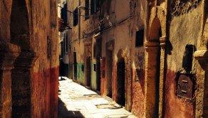 Bare streets, Morocco