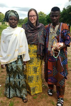 Samantha serves as a English and Gender Education Volunteer in Togo.