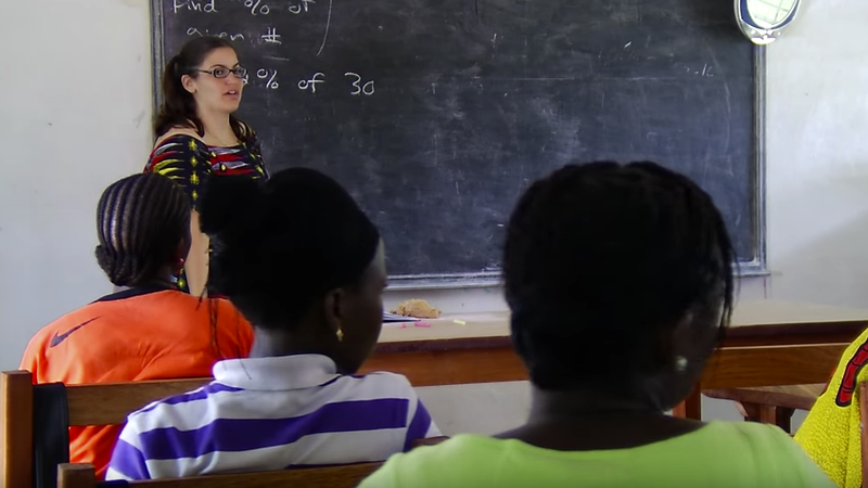 VIDEO: Peace Corps Response Volunteer in Liberia shares her Native American heritage