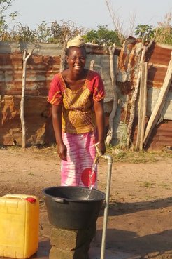 Solar Powered Water Supply System Project in The Gambia
