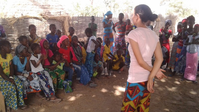 Laura Latrine - Wash training in village.jpg