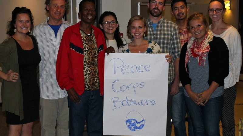 'Re mmogo!' The White House, Peace Corps and you -- together we can map Botswana