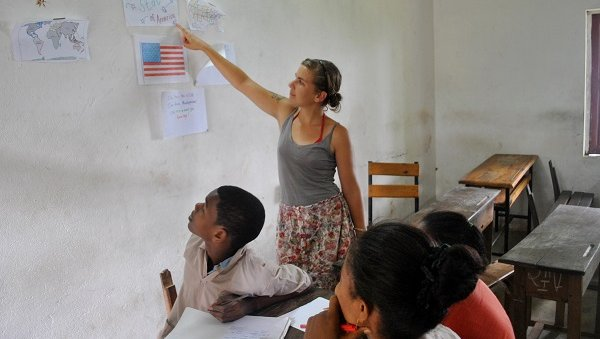 Jessie Beck teaching