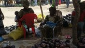 burkina faso stall at the vegetable fair