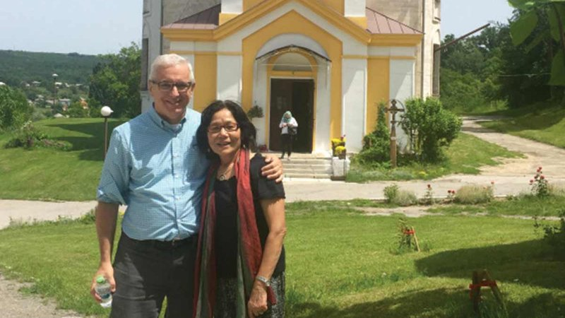joining the peace corps at 63 david jarmul and wife champa